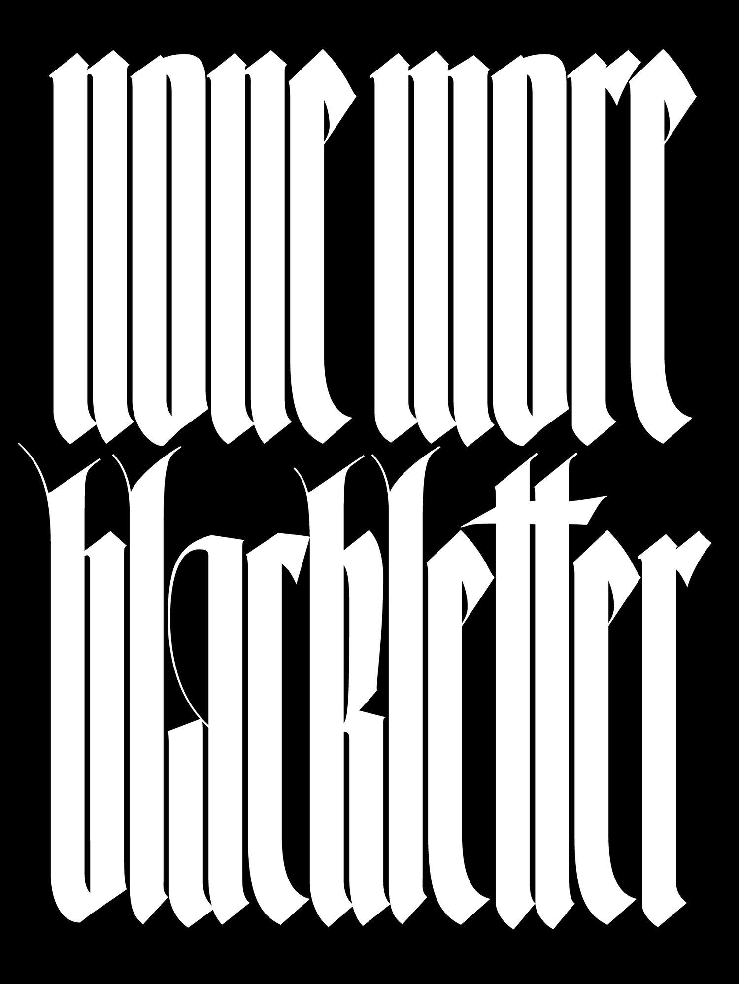 Sketler-typeface
